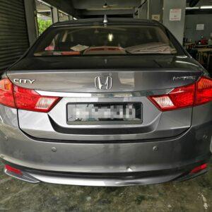 Honda City 2016 (Black & Maroon)