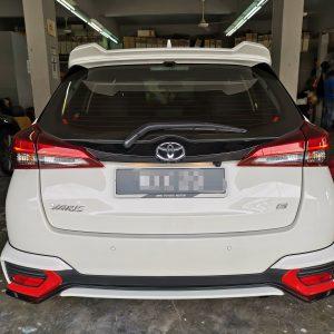 Toyota Yaris G Spec 2020 (Black Leather with Blue Stripe)